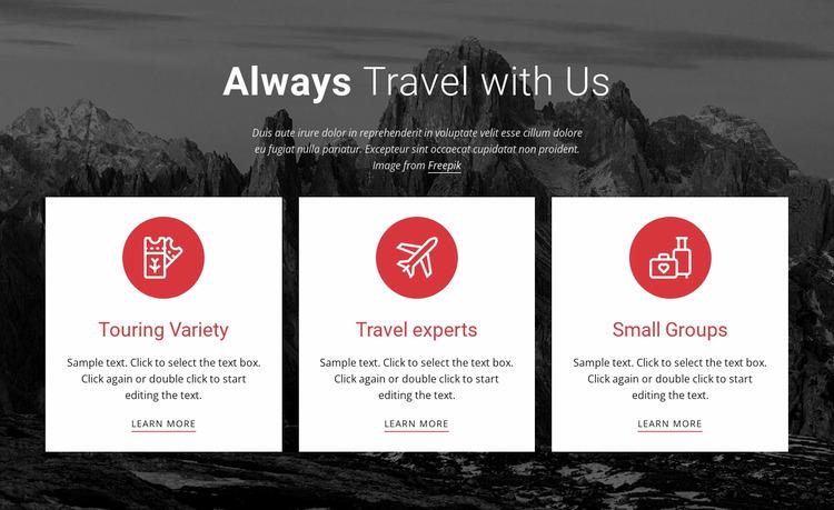 Big adventures WordPress Website Builder