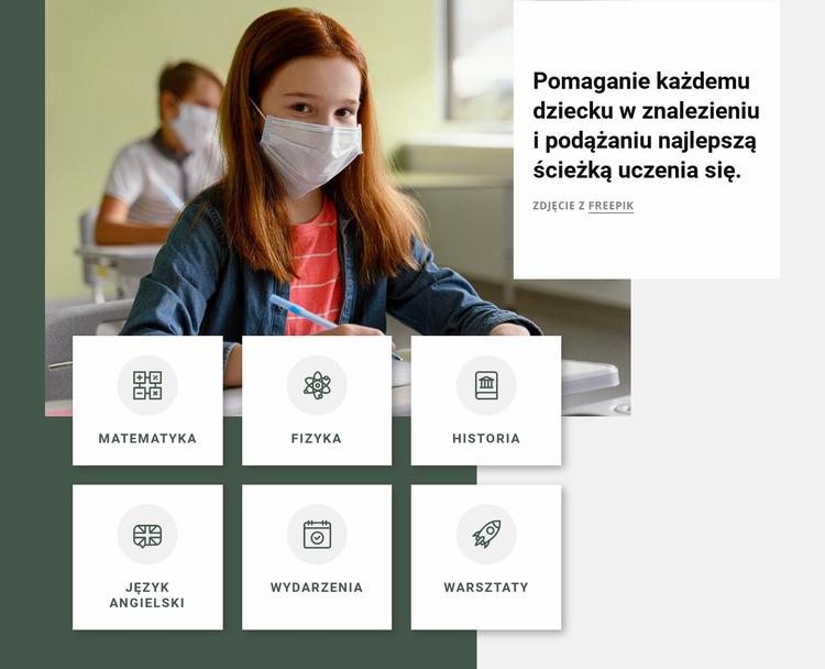 Programy pozaszkolne Szablon Joomla