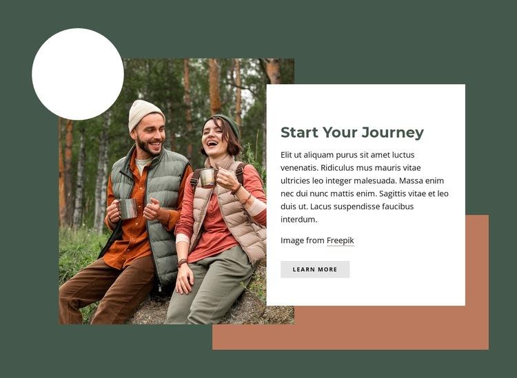 Start your journey Website Creator