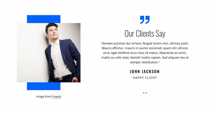 Our clients say Web Page Designer