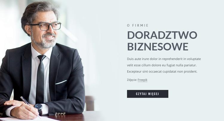 Zarządzanie płynnością i kapitałem Szablon witryny sieci Web