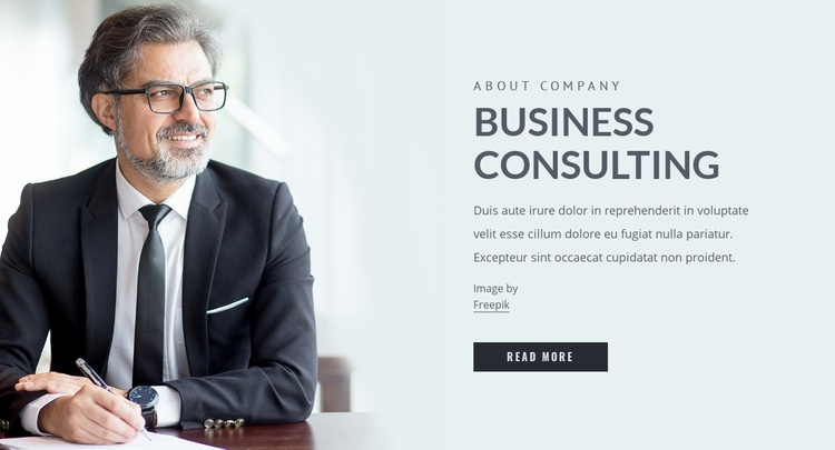 Liquidity and capital management Web Page Design