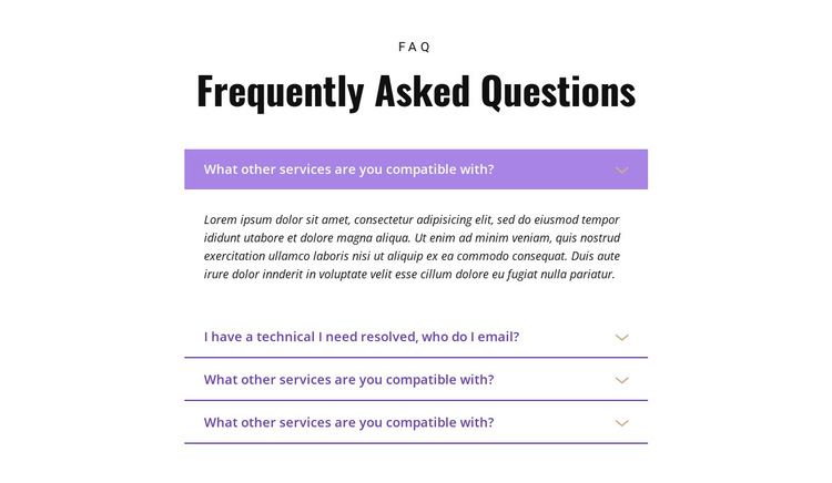 Asking the right questions HTML5 Template