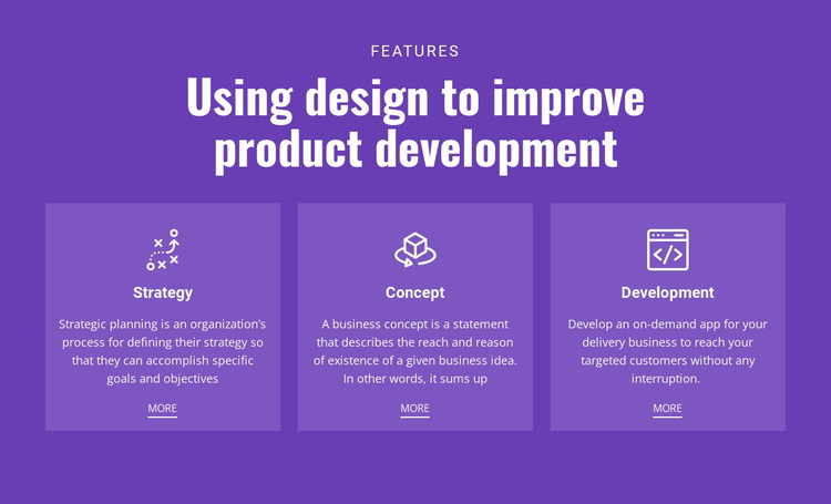Mobile solutions for business HTML5 Template
