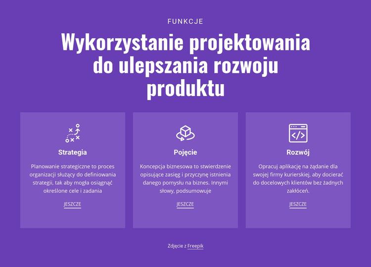Rozwiązania mobilne dla biznesu Szablon witryny sieci Web