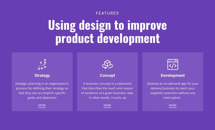 Mobile solutions for business Website Mockup