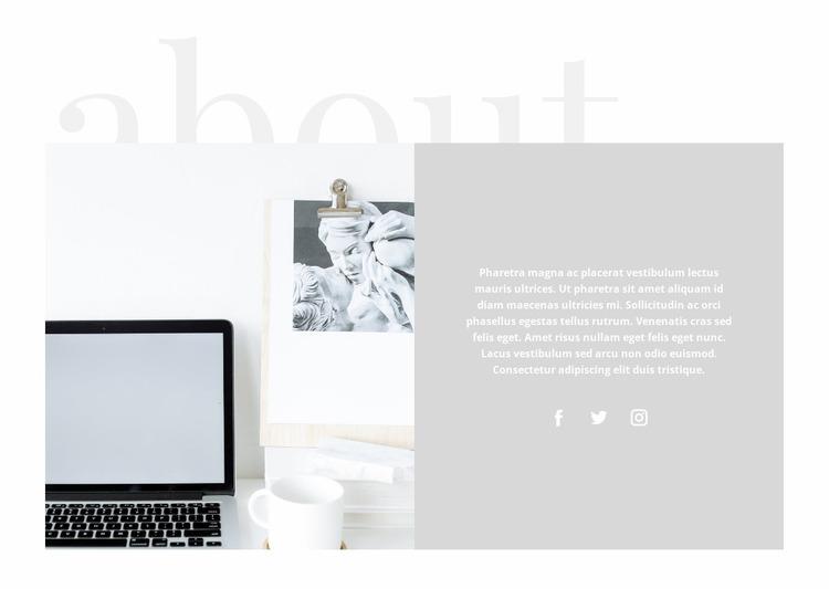 Time management in business Website Mockup