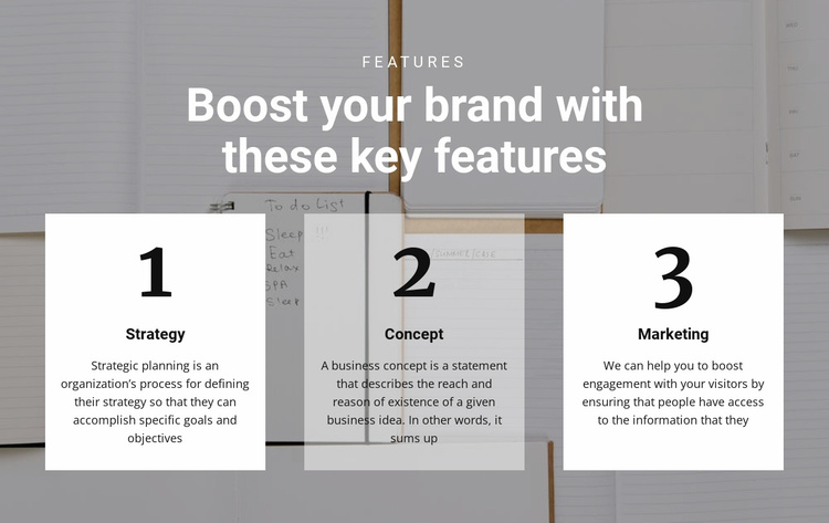 The main key to the top Landing Page