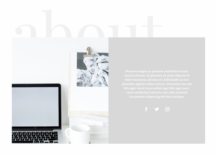 Time management in business Website Template