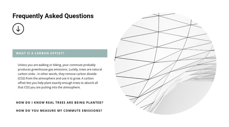Most popular questions at work CSS Template