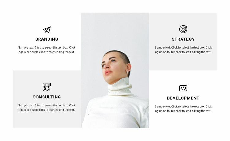 Directions of work in the studio Website Design
