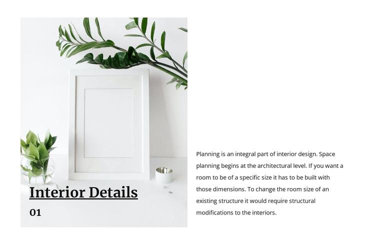Photo frames HTML Template