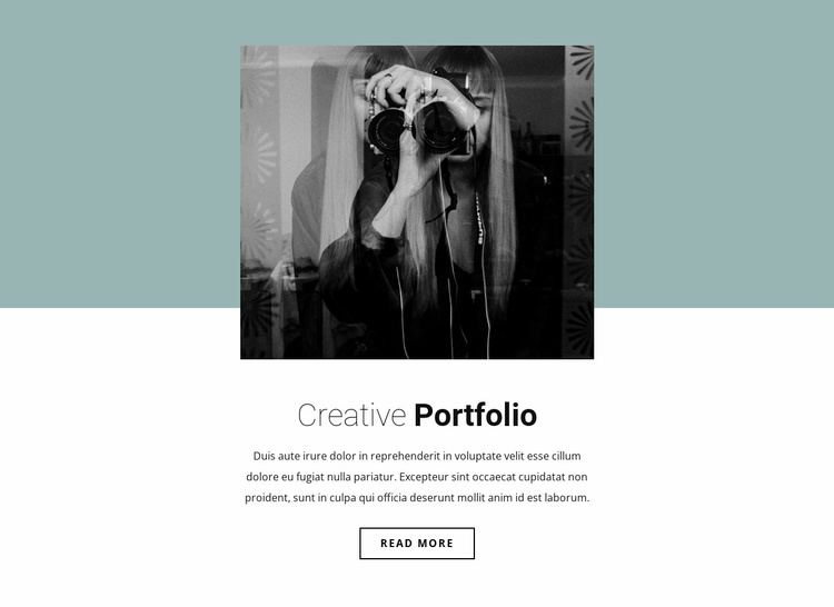 Illustrator's portfolio Website Template