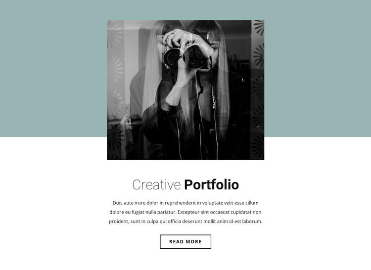 Illustrator's portfolio WordPress Theme