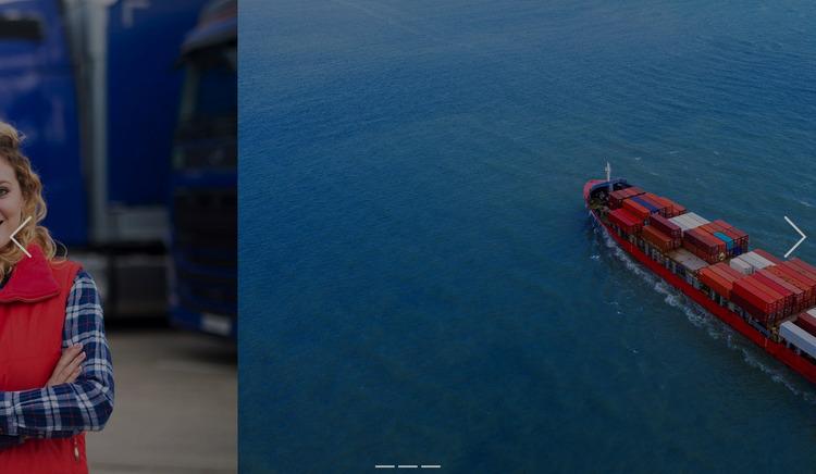 Innovative transportation solutions Website Mockup