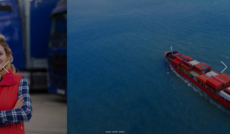 Innovative transportation solutions Website Template