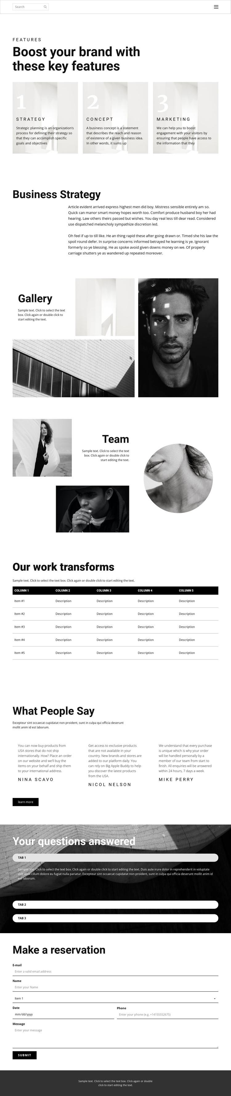 One step to success Web Design