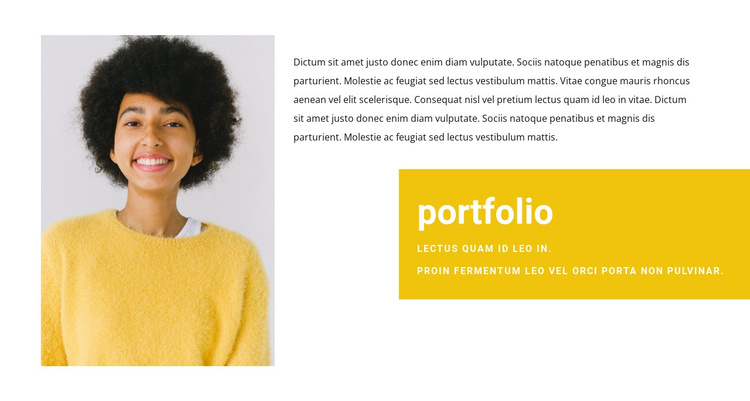 Sales Manager Portfolio Joomla Template