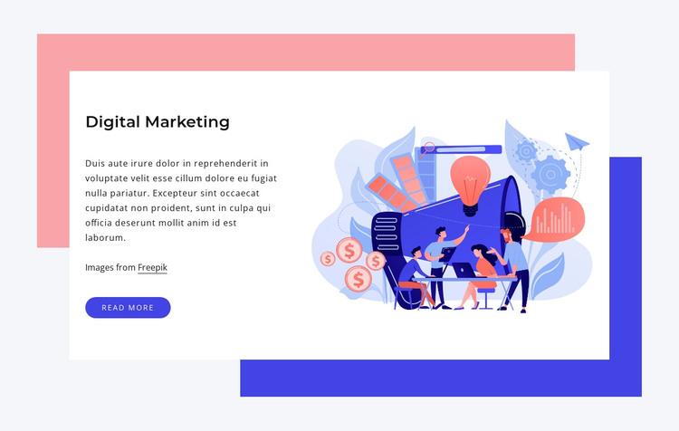 Digirtal marketing WordPress Theme