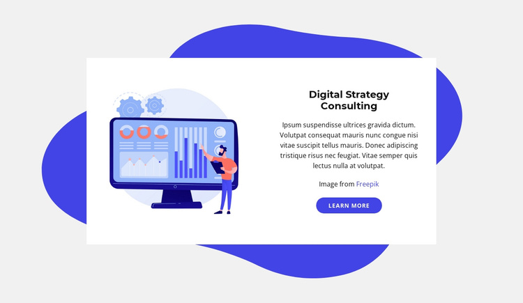 Digital strategy consulting Joomla Template
