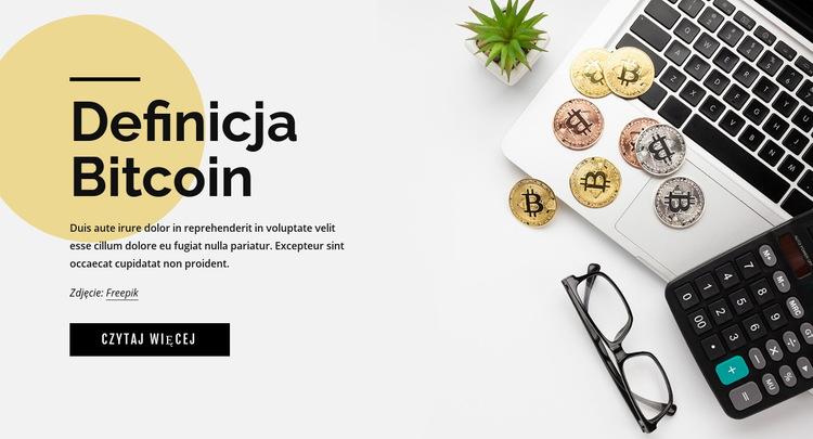 Jak inwestować w bitcoin Szablon witryny sieci Web