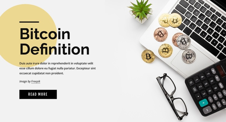 How to invest in bitcoin Web Page Design