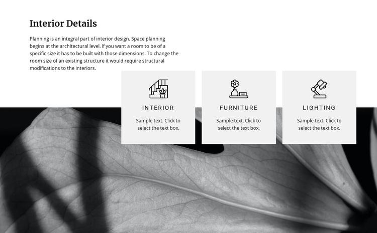 Modern renovation ideas HTML Template