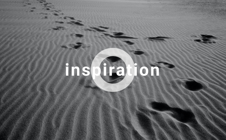 Get inspired One Page Template