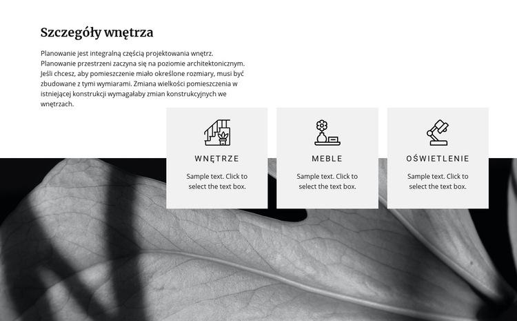 Nowoczesne pomysły na renowację Szablon witryny sieci Web