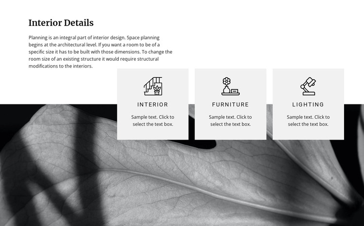 Modern renovation ideas Web Design