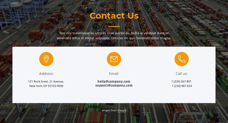Ask how we can help you Landing Page