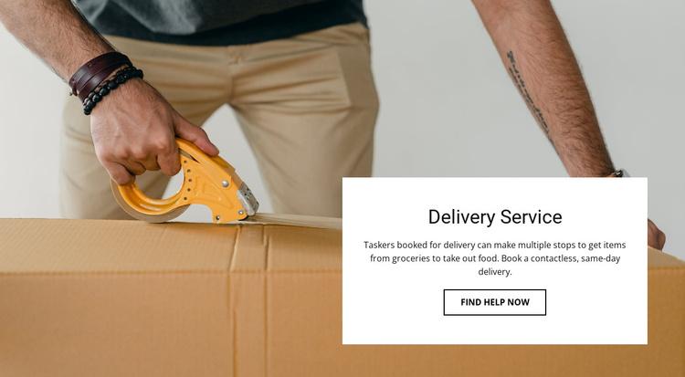 Fast shipping Joomla Template