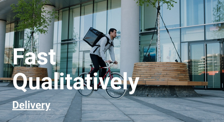 Fast qualitatively delivery Joomla Template