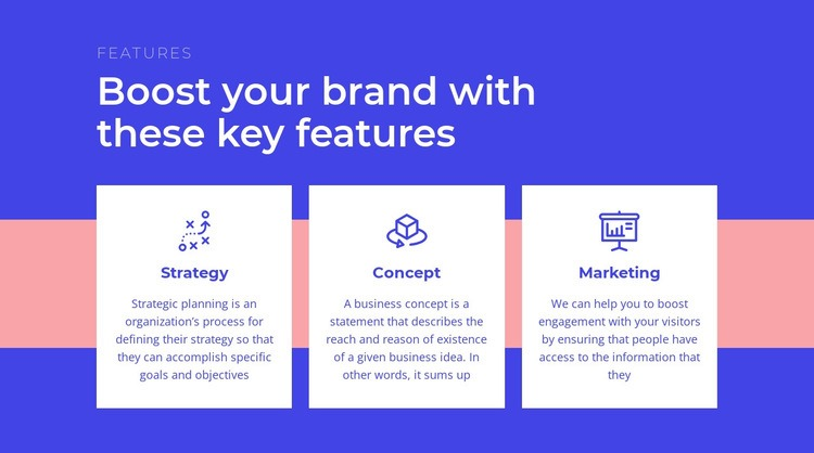 Creating your brand strategy Html Code Example