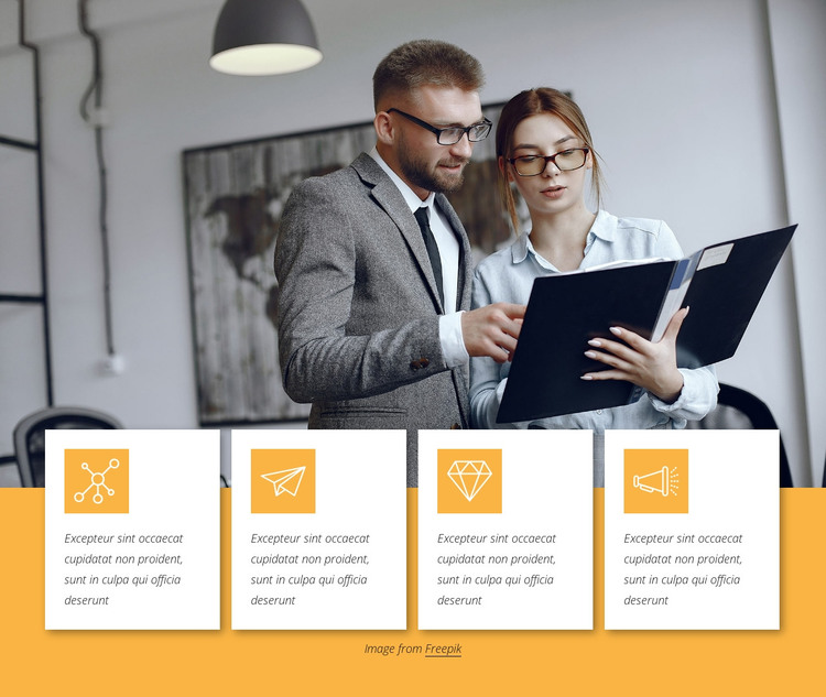 Cryptocurrency development services HTML Template