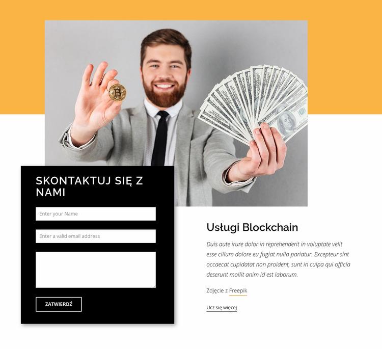 Konsultant ds. Kryptowalut Szablon Joomla