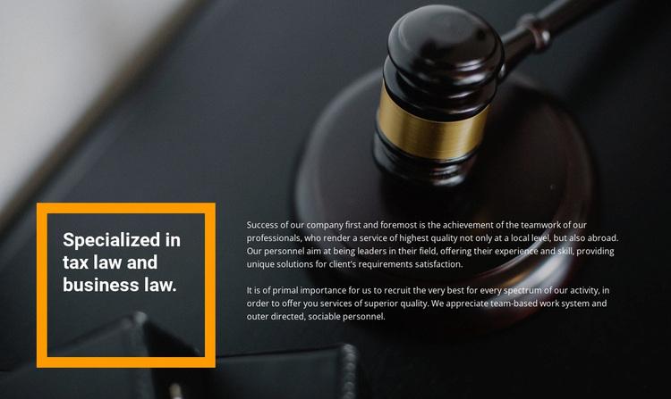 Lawyer assistance Website Design