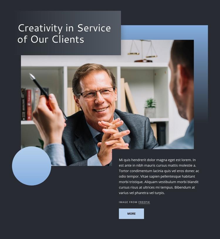 Civil litigation, employment, public finance Web Page Design