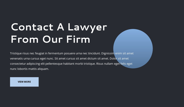 Lawer firm HTML Template