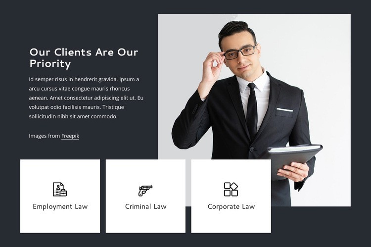 Our clients are our priority Web Page Design