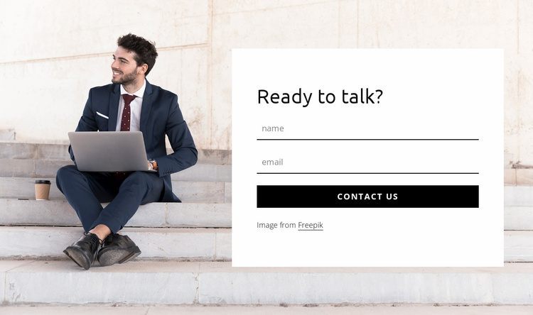 Need help now Website Template