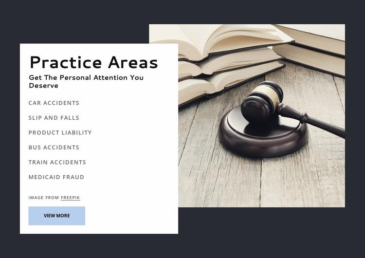 Award winning law firm WordPress Website Builder