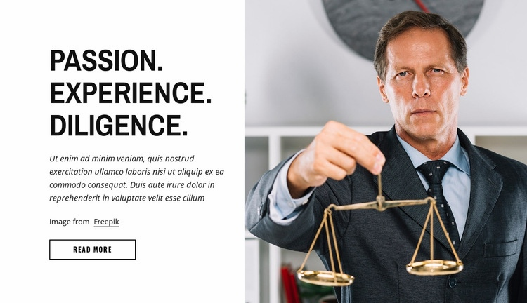 We studied the traditional legal service Web Page Designer