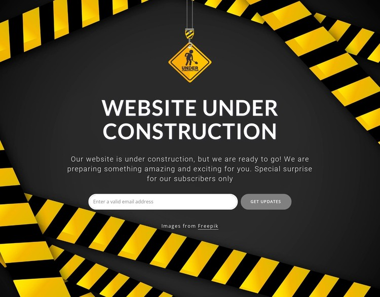 We should be back shortly CSS Template