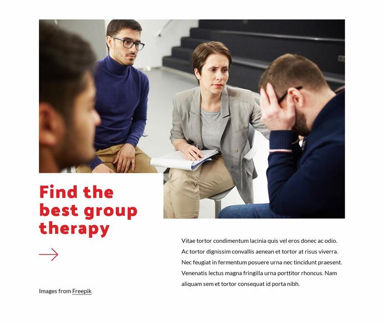 Psychological distress Website Template