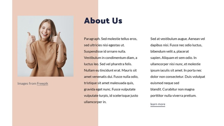 Talk with a licensed, professional therapist online CSS Template