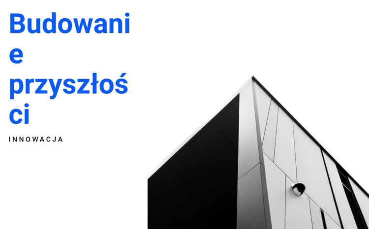 Formy graficzne w architekturze Szablon witryny sieci Web