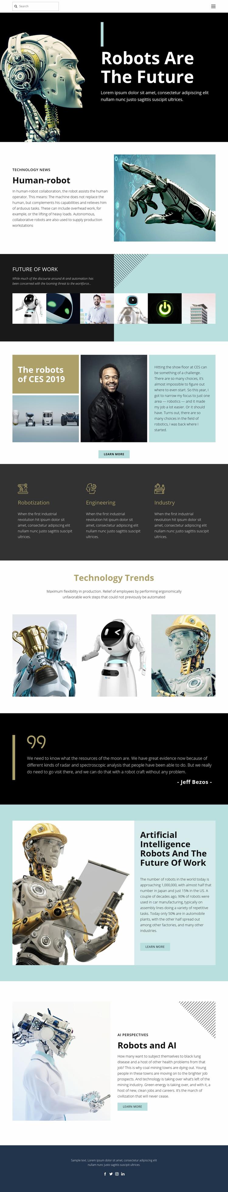 Already future technology Web Page Designer
