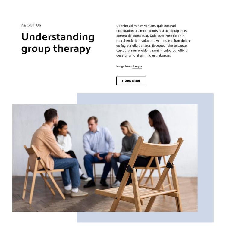Helping clients communication skills Joomla Template