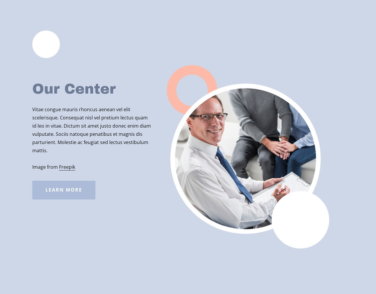 Therapy for how we live today Website Builder Software